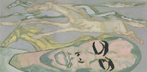 Francesco Clemente, from <em>Anamorphosis</em>