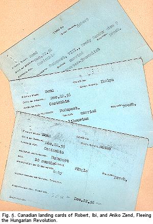 CANADA LANDING CARDS 300