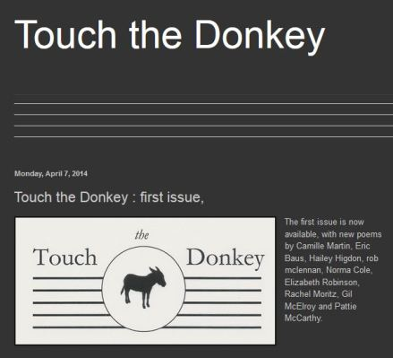 TOUCH THE DONKEY